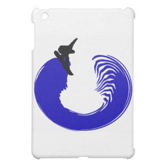 Snowboard Blue Sliding iPad Mini Case