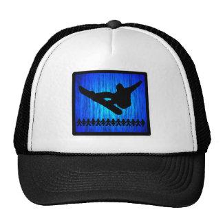 Snowboard Blue Zoom Trucker Hat