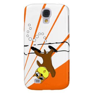 Snowboard Brown Dog Orange Speck iPhone 3 Case