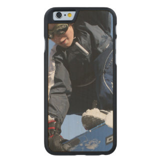 Snowboard Funda De iPhone 6 Carved® De Arce