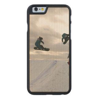 Snowboard Funda De iPhone 6 Carved® Slim De Arce