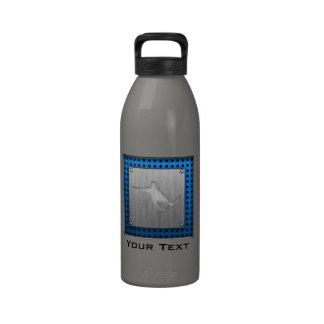 Snowboard cepillada de la Metal-mirada Botellas De Agua Reutilizables