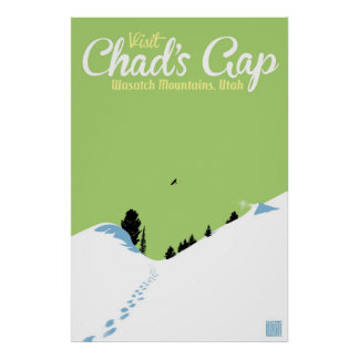 Snowboard Chad's Gap Posters