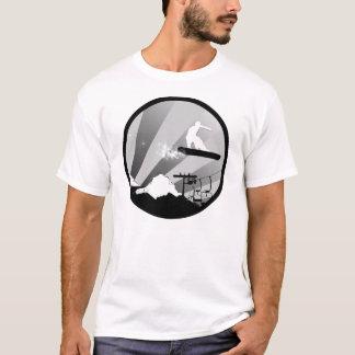 snowboard. circle. T-Shirt