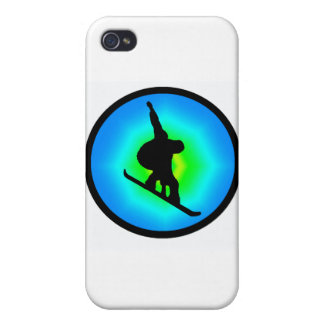 Snowboard Day Maker iPhone 4 Case