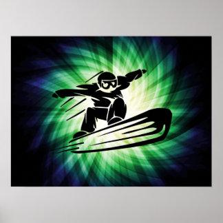 Snowboard de Xtreme Posters