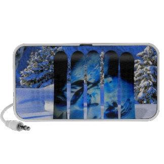 SNOWBOARD DEL ÁNGEL iPod ALTAVOCES