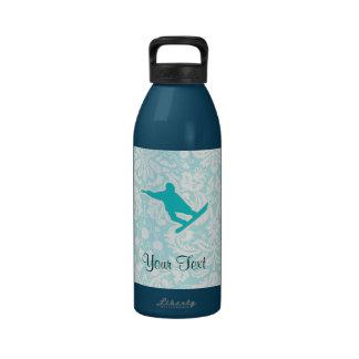 Snowboard del trullo botellas de agua reutilizables