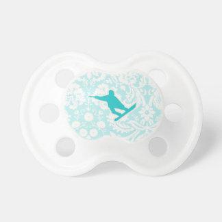 Snowboard del trullo chupetes para bebés