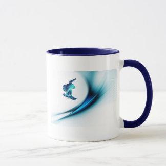 Snowboard Design Coffee Mug