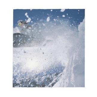 Snowboard en el centro turístico del Snowbird, Was Libreta Para Notas