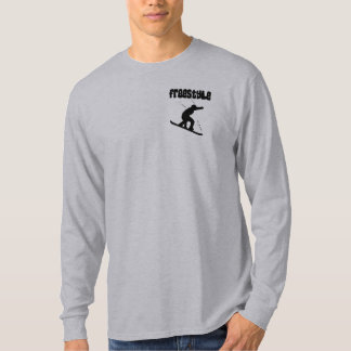 Snowboard Freestyle Badge T-shirt