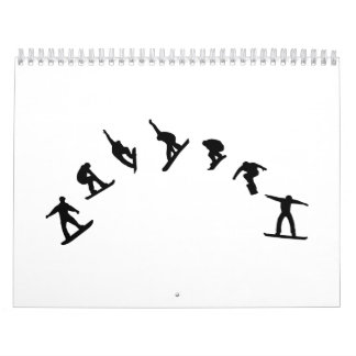 Snowboard freestyle jump calendar