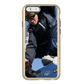 Snowboard Funda Para iPhone 6 Plus Incipio Feather Shine