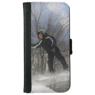 Snowboard Funda Cartera Para iPhone 6