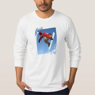 Snowboard Grab Men's Long Sleeve T-Shirt