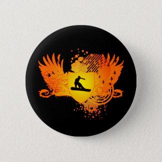 snowboard. hi-fi. v2. pinback button