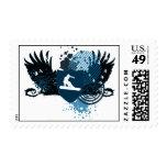 snowboard. hi-fi. v2. postage stamps