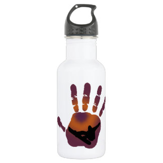SNOWBOARD HOT GLOVED STAINLESS STEEL WATER BOTTLE