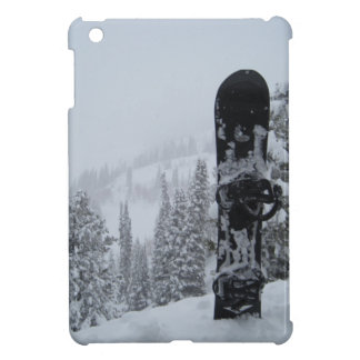 Snowboard In Snow iPad Mini Cases