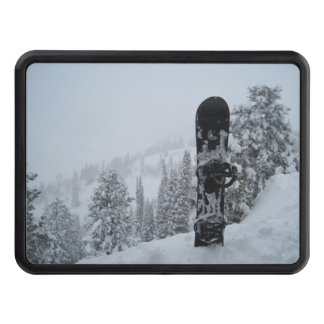 Snowboard In Snow Tow Hitch Cover