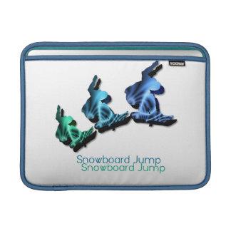 "Snowboard Jump 13"" MacBook Sleeve"