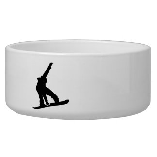 Snowboard jump bowl