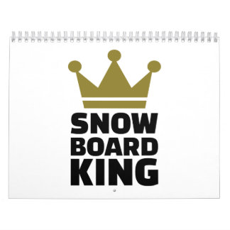 Snowboard king champion calendar