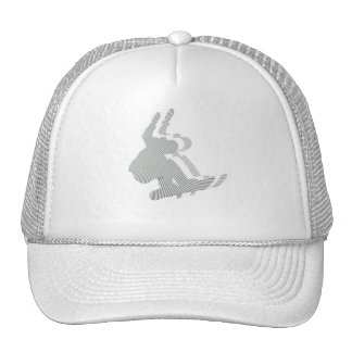 Snowboard Logo Design Baseball Hat