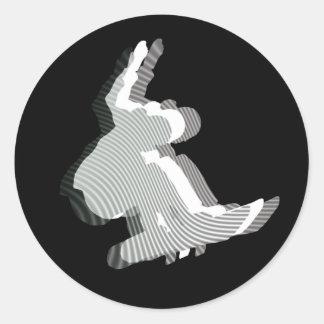 Snowboard Logo Design Stickers