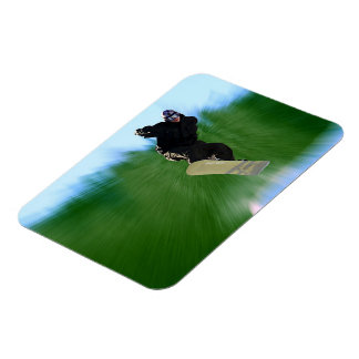 Snowboard Magnet
