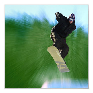 Snowboard Magnetic Card