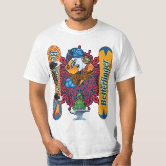 Snowboard malvada de Butterfinger de la camiseta Camisas