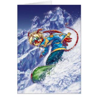 Snowboard máxima felicitacion