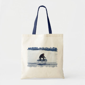 Snowboard Ollie Small Tote Bag