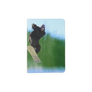 Snowboard Passport Holder