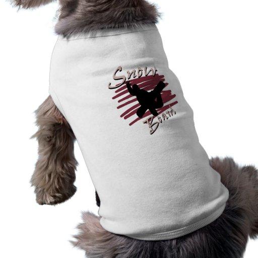 Snowboard Pet T-shirt