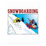 Snowboard Post Card