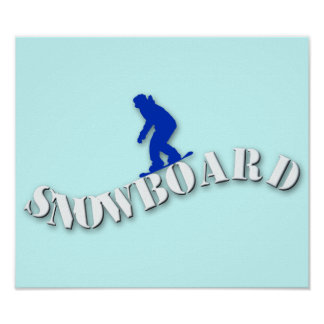 Snowboard Poster