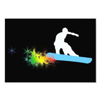 snowboard : powder trail card