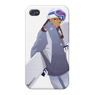 Snowboard Queen - iPhone 4 Case