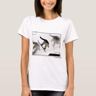 Snowboard Rails Ladies T-Shirt