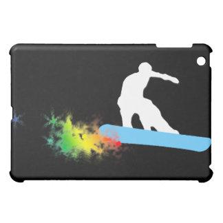 snowboard: rastro del polvo