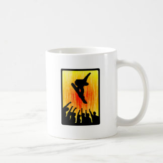 Snowboard Raw Materials Classic White Coffee Mug