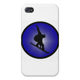 Snowboard Ready Zoned iPhone 4 Covers