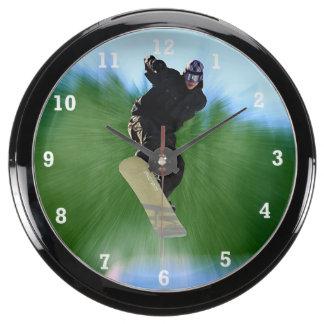 Snowboard Relojes Pecera