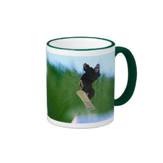 Snowboard Ringer Mug