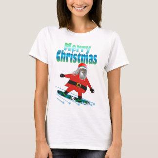 Snowboard Santa T-Shirt