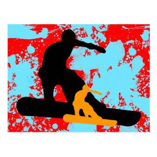 snowboard: shadowstance postales