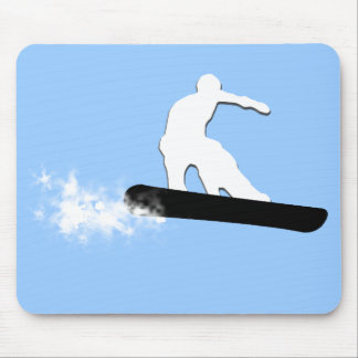 snowboard. simple. mouse pad